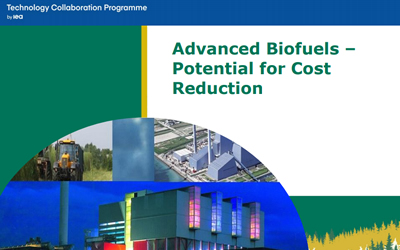 PRESS RELEASE – IEA Bioenergy publishes a new report on the potential for advanced biofuels cost reduction