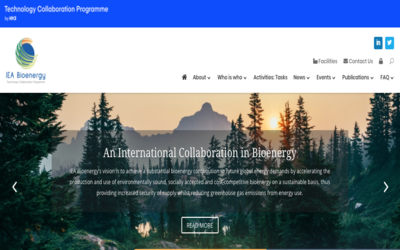 IEA Bioenergy announces the launch of new website and graphic identity