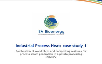 New Publications –  Case studies illustrating how bioenergy is used in industry to provide high temperature heat