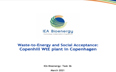 New Publication – Waste-to-Energy and Social Acceptance: Copenhill WtE plant in Copenhagen