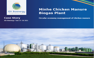 Minhe Chicken Manure Biogas Plant: Circular economy management of chicken manure
